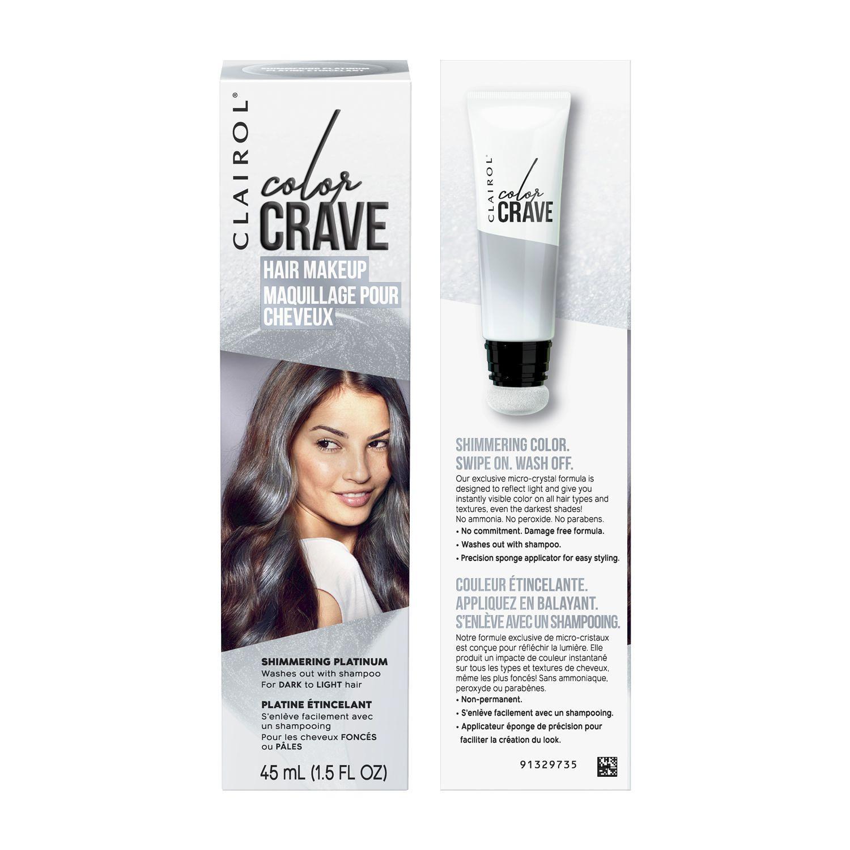 Clairol Color Crave Temporary Hair Makeup Walmart Canada