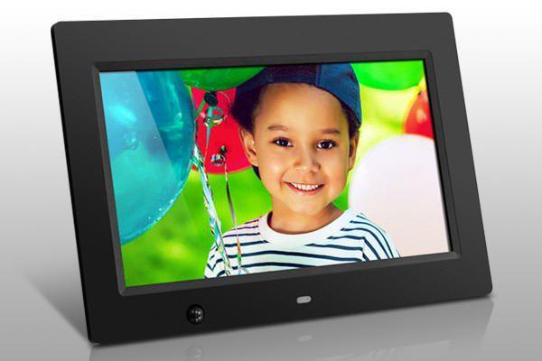 aluratek 10 digital photo frame with motion sensor and 4gb built in memory