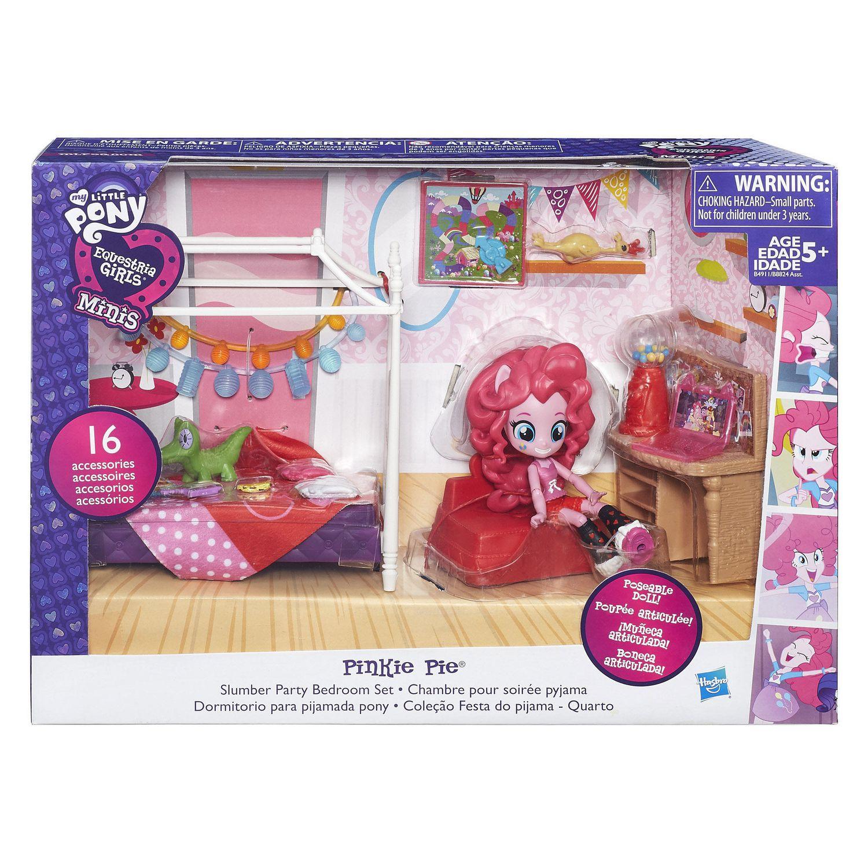 My Little Pony Equestria Girls Minis Pinkie Pie Slumber Party ...