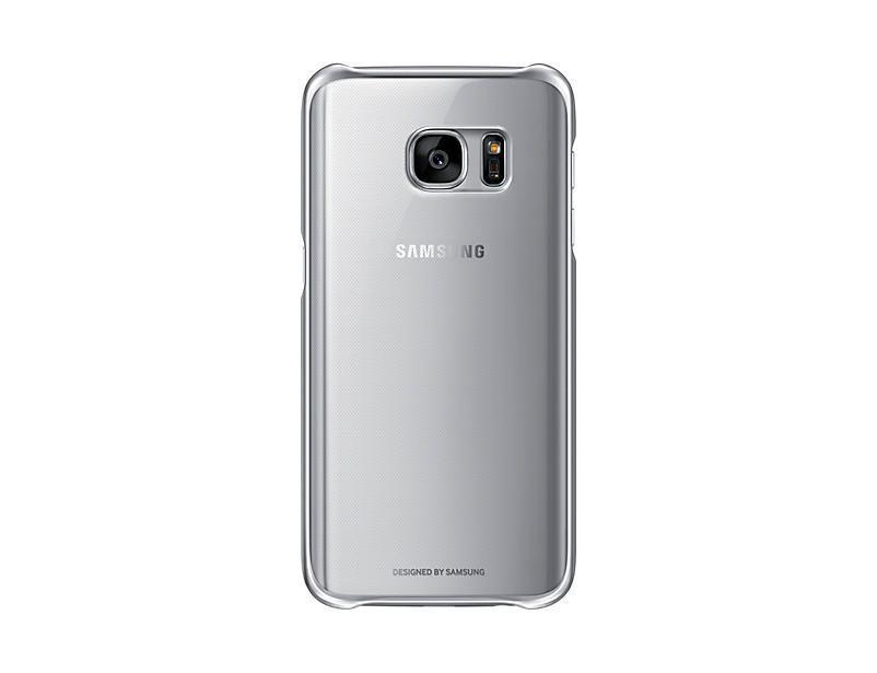 Coque transparente pour Galaxy S7 de Samsung, Noir | Walmart Canada