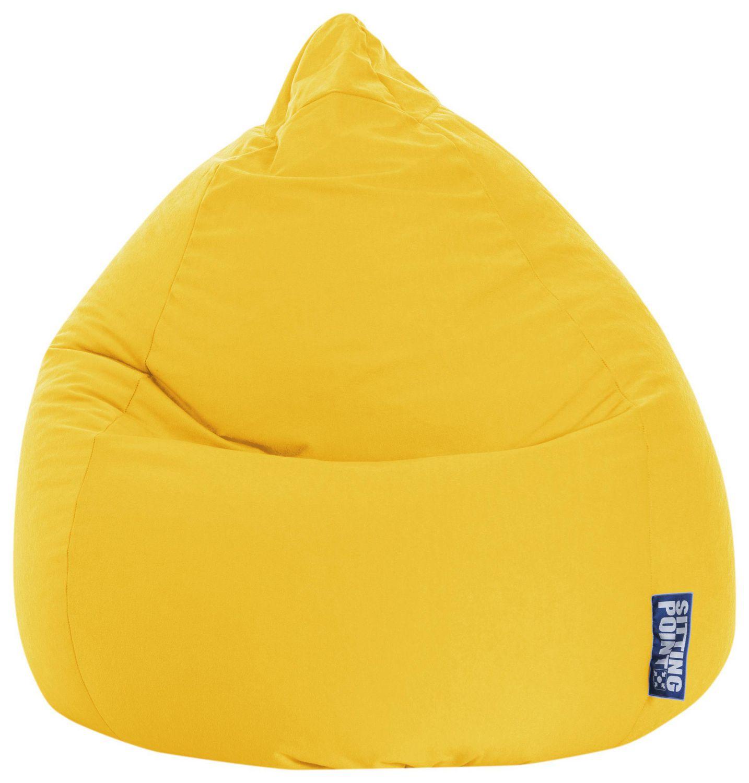 Sitting Point Easy Yellow Beanbag