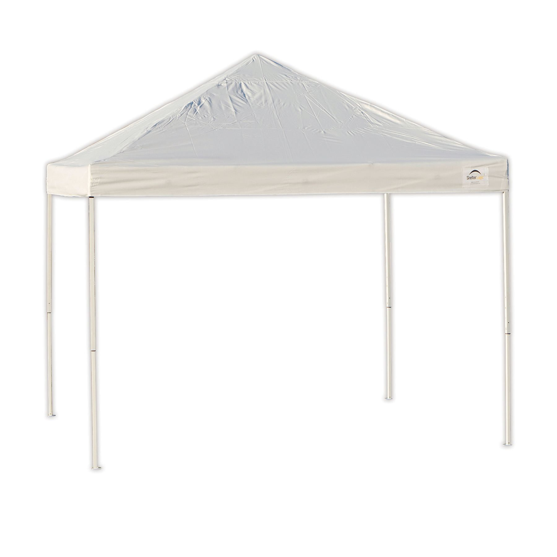 ShelterLogic Pro 10 x 10 White Straight Leg Pop-Up Canopy | Walmart Canada  sc 1 st  Walmart Canada & ShelterLogic Pro 10 x 10 White Straight Leg Pop-Up Canopy ...