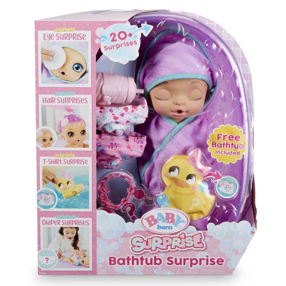 Baby born surprise