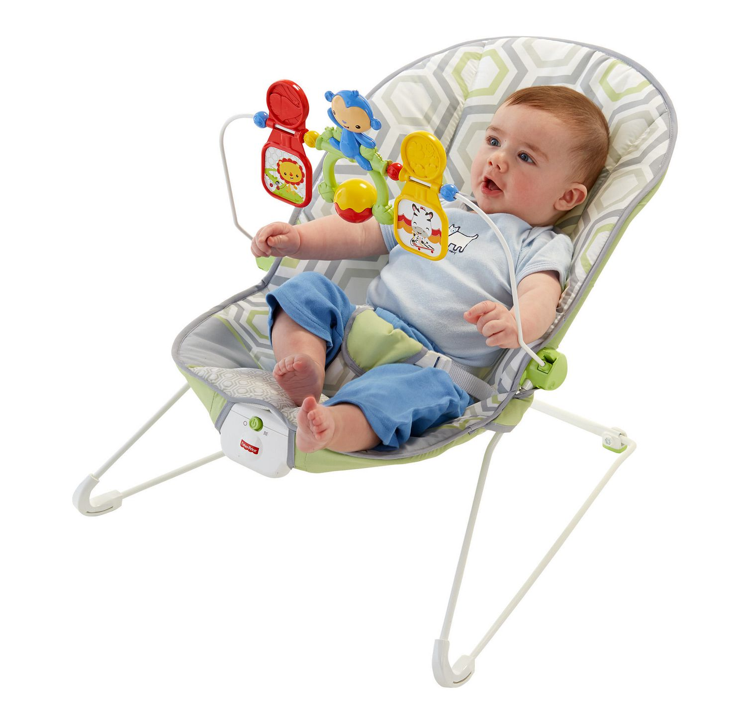Fisher Price Baby s Bouncer Geo Meadow
