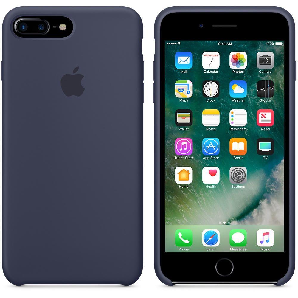 Étui en silicone pour iPhone 7 Plus
