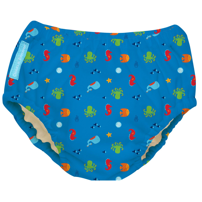 Small Raindrops Bumkins Reusable Swim Diaper