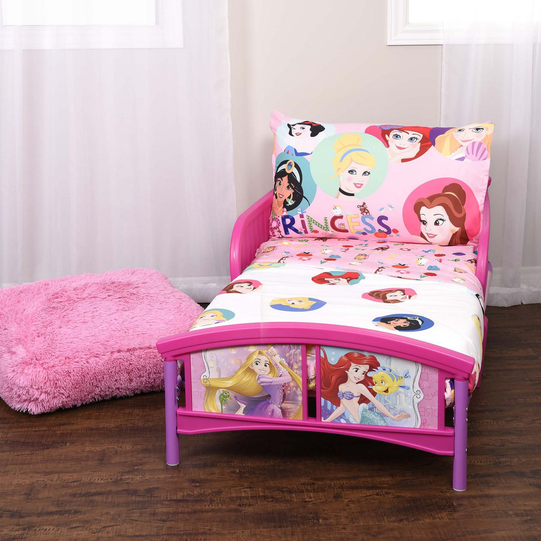 Ensemble De Literie 3 Pieces Disney Princess Pour Tout Petits