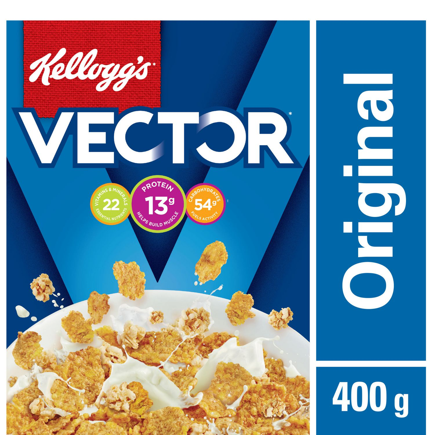 Kelloggs vector meal replacement 400g cereal walmart canada ccuart Images