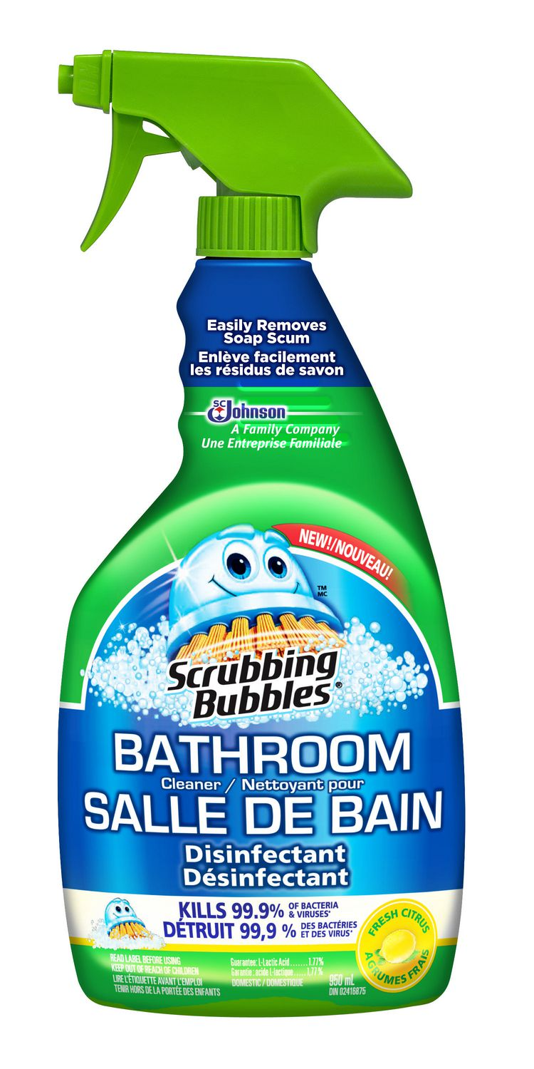 Scrubbing Bubbles® Bathroom Cleaner Orange Action® Soap Scum Remover |  Walmart Canada