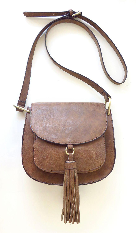 2cb2734f46c2 Club Rochelier Ladies Crossbody Saddle Bag