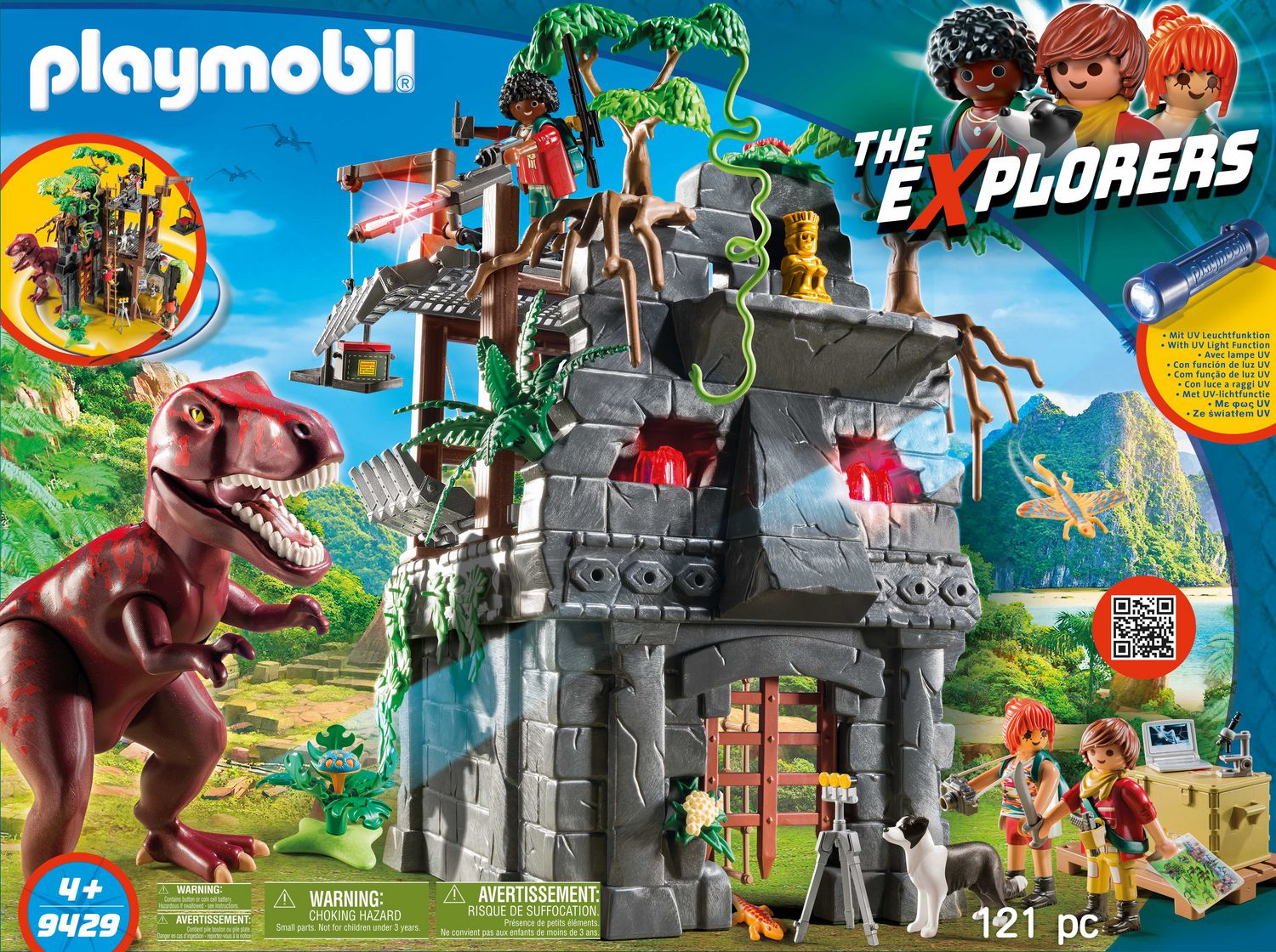Playmobil Dinos Ruin Playset with Lookout