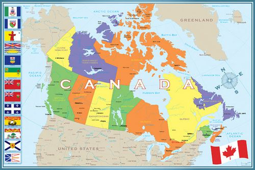 Maps Update 595524 Map of Canada Provinces and Cities Map of – Map of Canada Capital Cities and Provinces