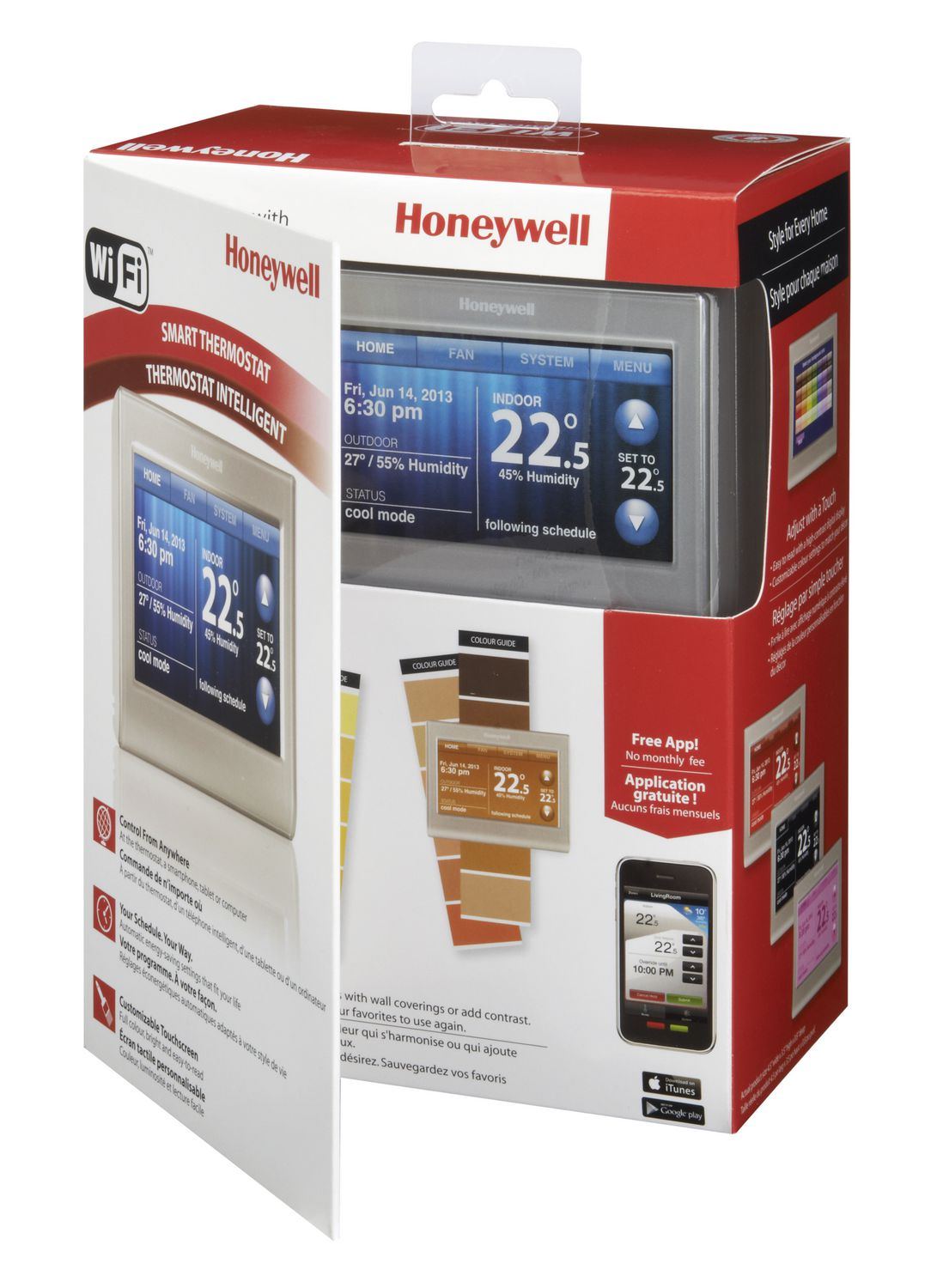 Honeywell Rth9580wf Smart Wi