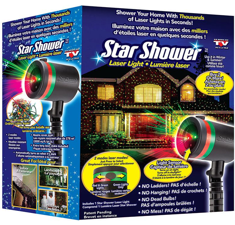 Star Shower Laser Light Walmart Canada