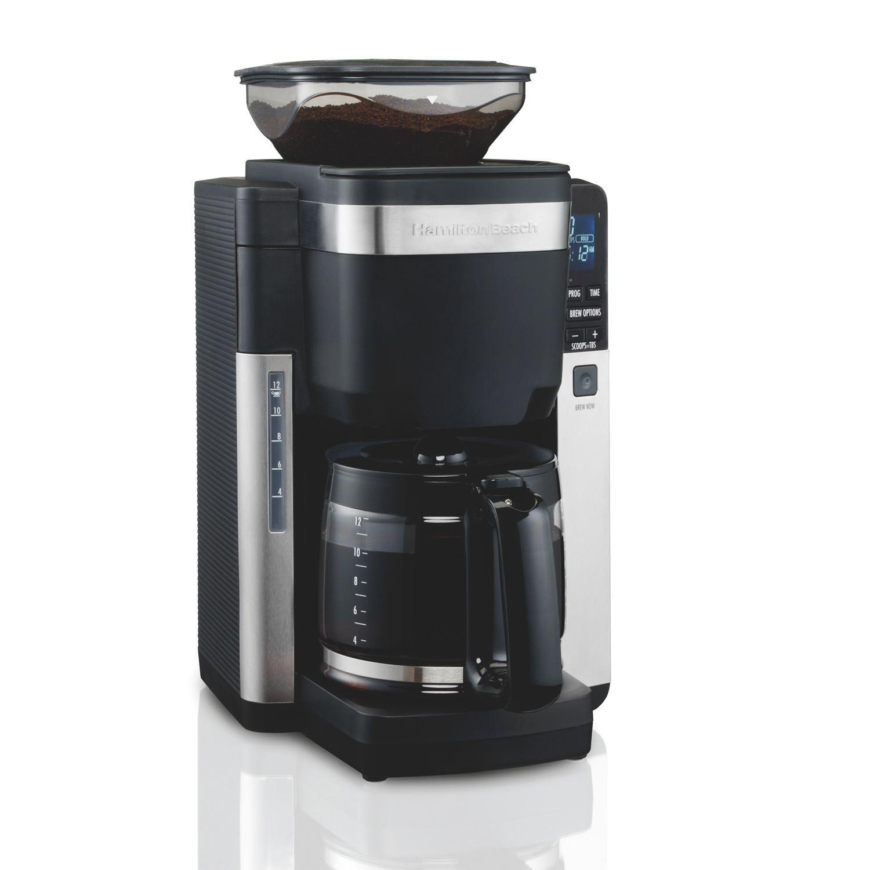 Hamilton Beach Coffee Maker with Automatic Grounds Dispenser   Walmart Canada