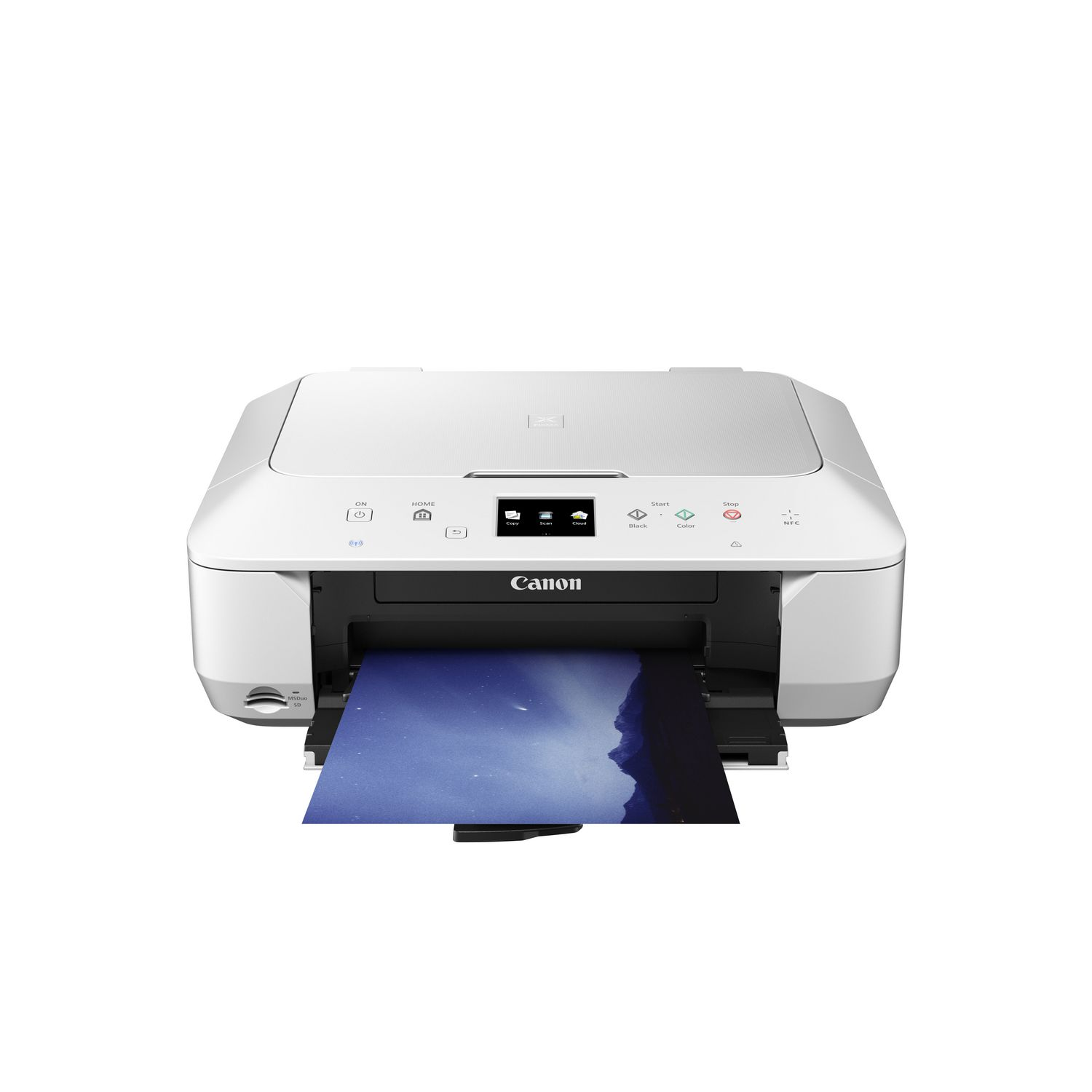 Canon Pixma Mg6620 Wireless Inkjet Photo All In One Printer White