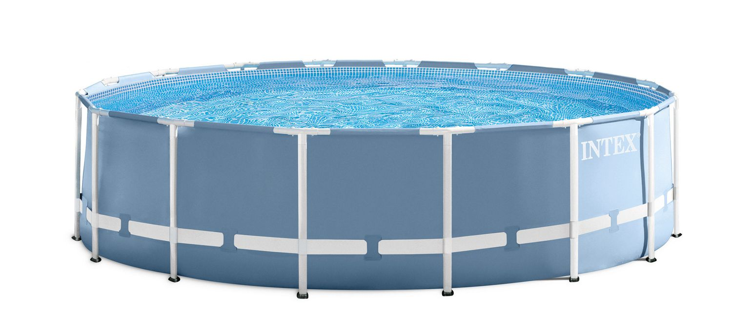 Intex Prism Frame Above Ground Pool with Filter Pump | Walmart Canada