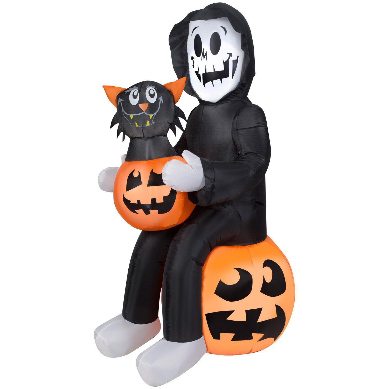 Reaper's Pumpkin Surprise Inflatable