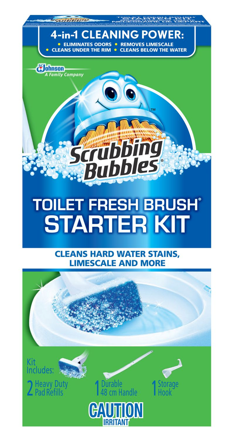 Scrubbing Bubbles  Toilet Cleaning System Fresh Brush  Max   Walmart ca. Scrubbing Bubbles  Toilet Cleaning System Fresh Brush  Max