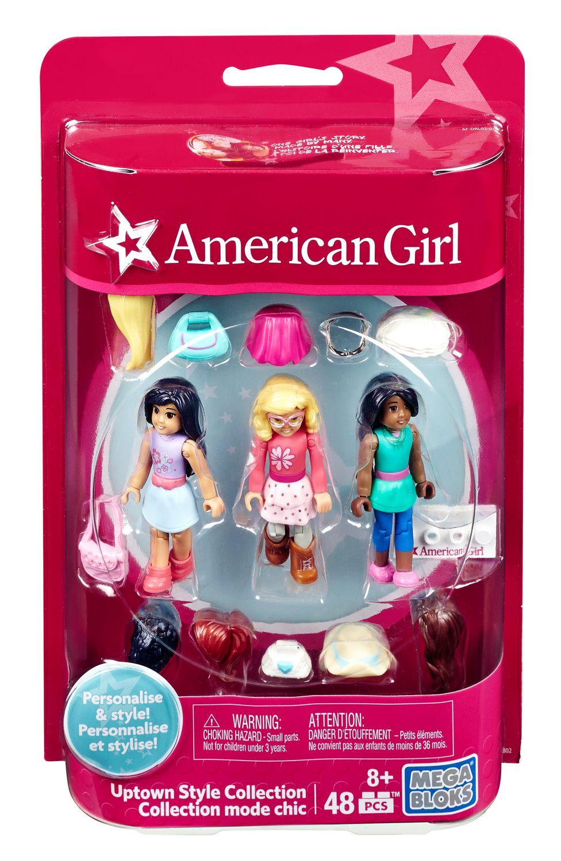 4pcs Mega Bloks American Girl Building Figure Seires 1 BIN
