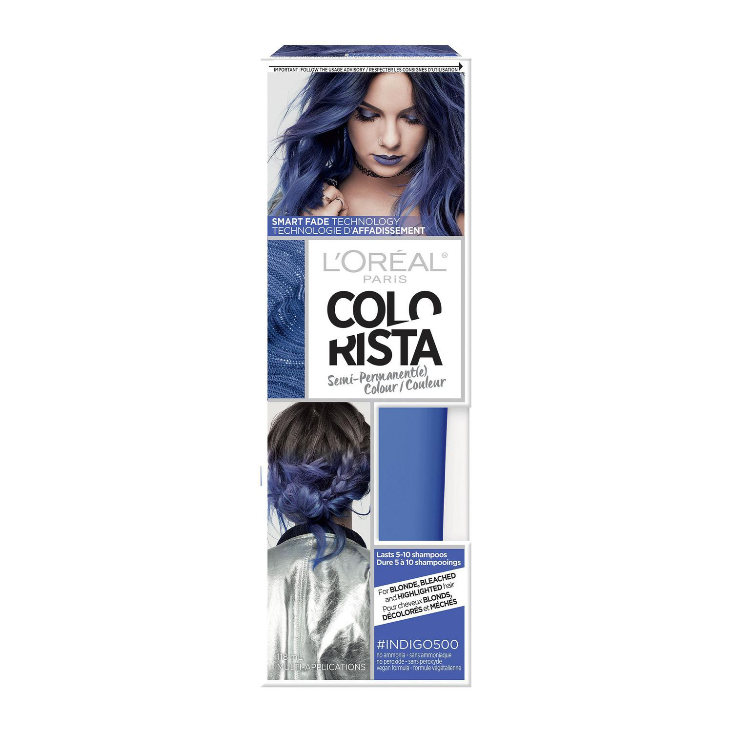 Loreal Paris Colorista Semi Permanent Hair Colour Walmart Canada