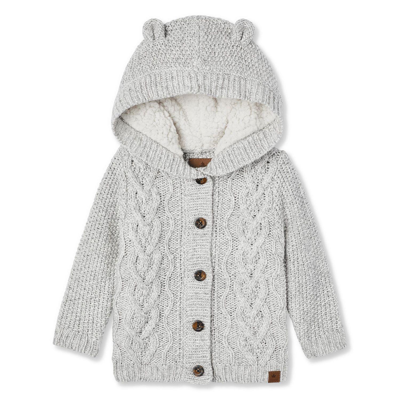 Canadiana Baby Boys' Cable Knit Cardigan | Walmart Canada