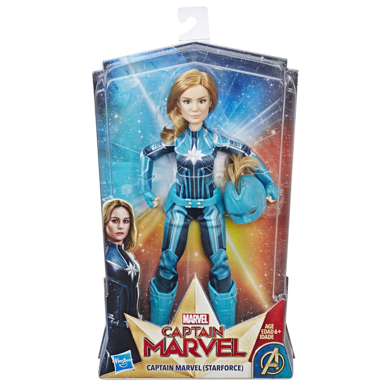 Starforce Super Héros poupée avec Casque Accessoire Marvel Capitaine Marvel