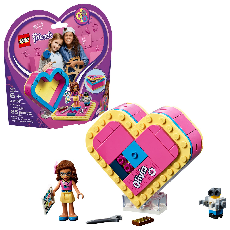 41357 Cœur Boîte Friends Lego La D'olivia dCBoex