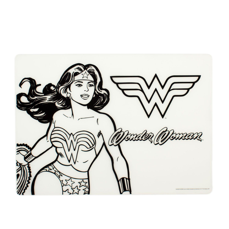 Bumkins Dc Comics Napperon De Coloriage En Silicone Wonder Woman Walmart Canada