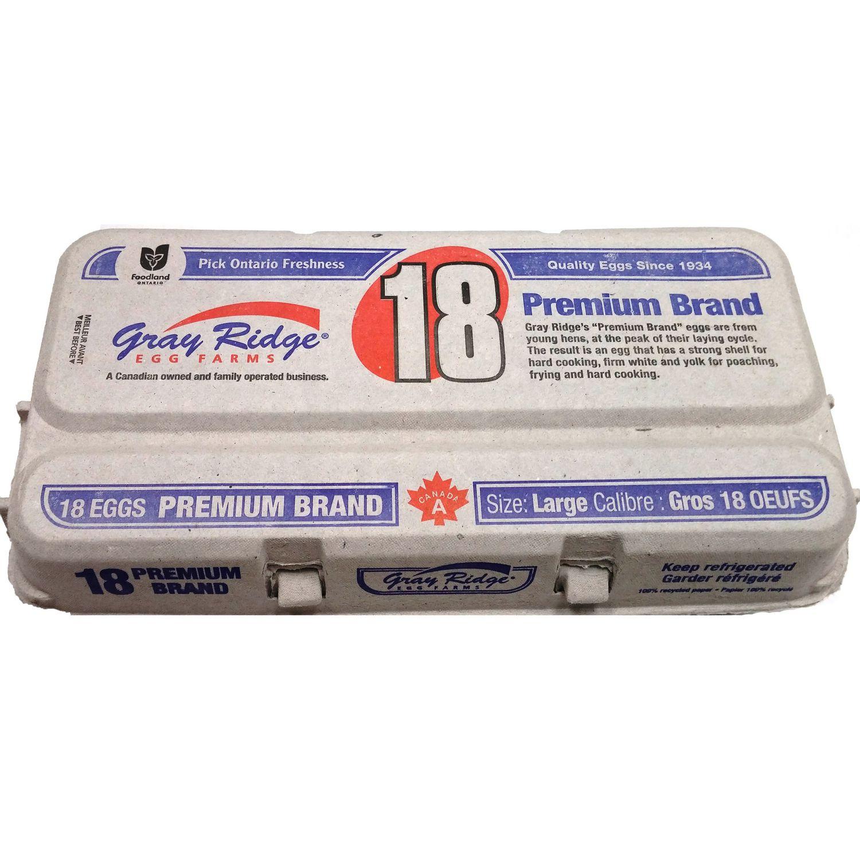 Gray Ridge Premium Large White Eggs | Walmart Canada