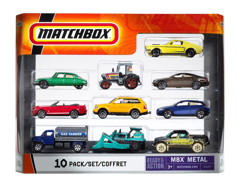 Matchbox 10 Pack - Styles May Vary | Walmart Canada
