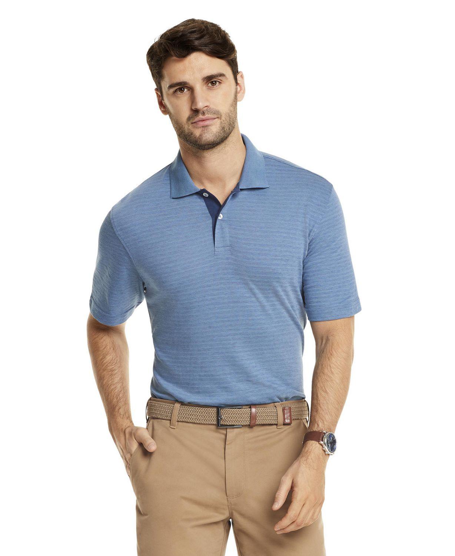 Arrow Mens Jacquard Short Sleeve Polo
