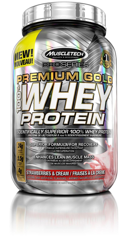 Muscletech Pro Series Premium Gold 100 Whey Protein Strawberry Powder Walmart Canada