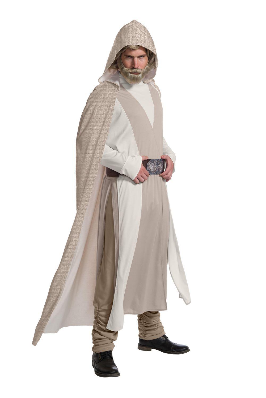 Star Wars The Empire Strikes Back Luke Skywalker Cosplay Men Halloween Costume A
