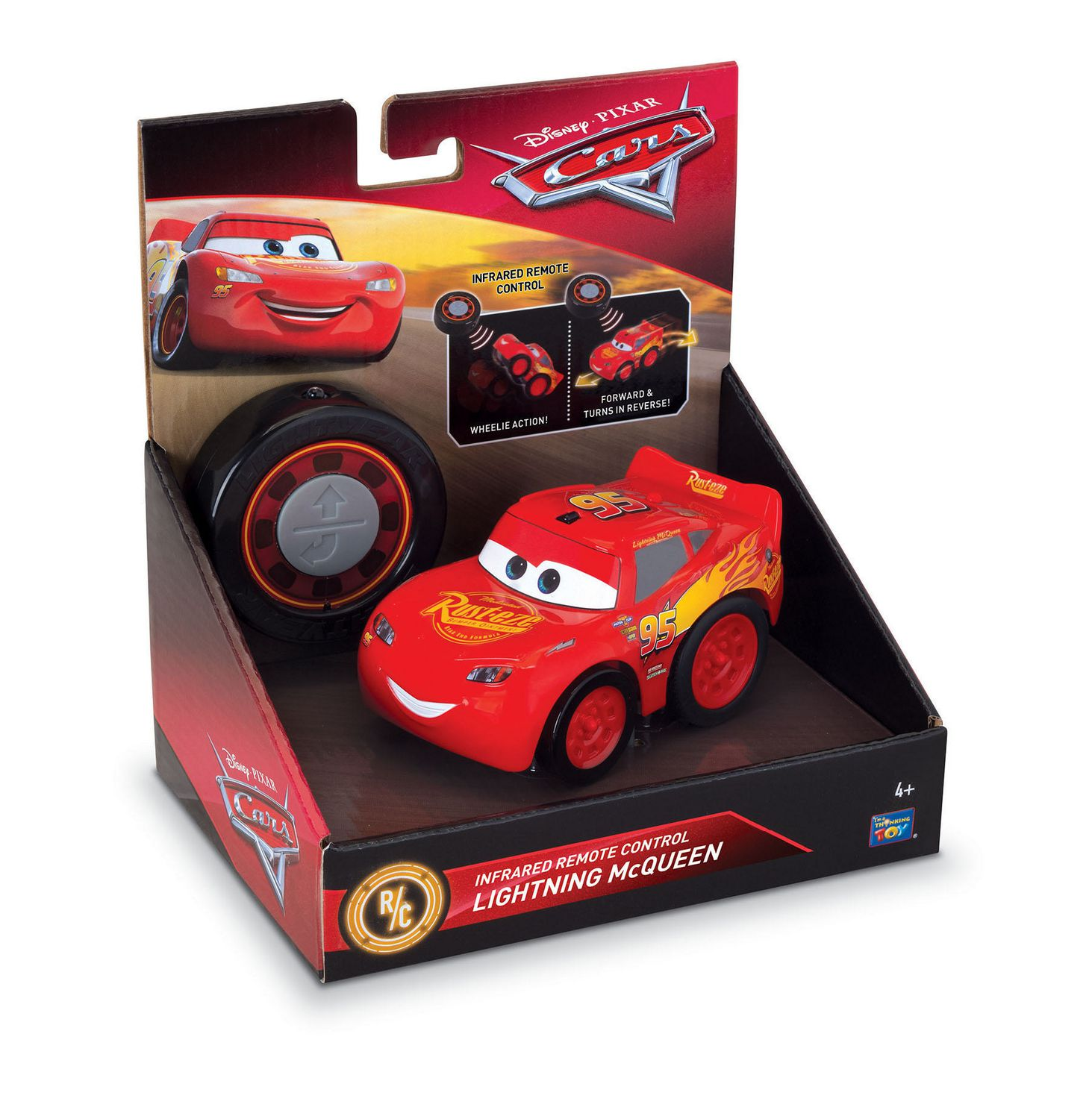 Cars 3 Lightning Mcqueen Infrared Remote Control Toy Vehicle Walmart Canada