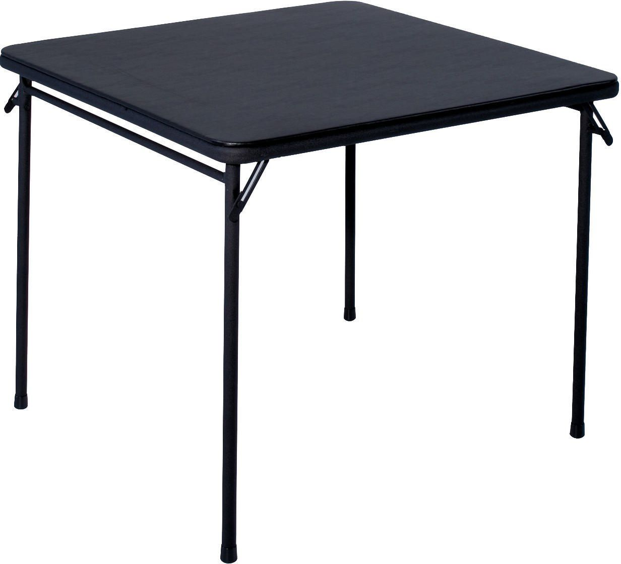 "Table Walmart: Cosco 34"" Square Folding Table"