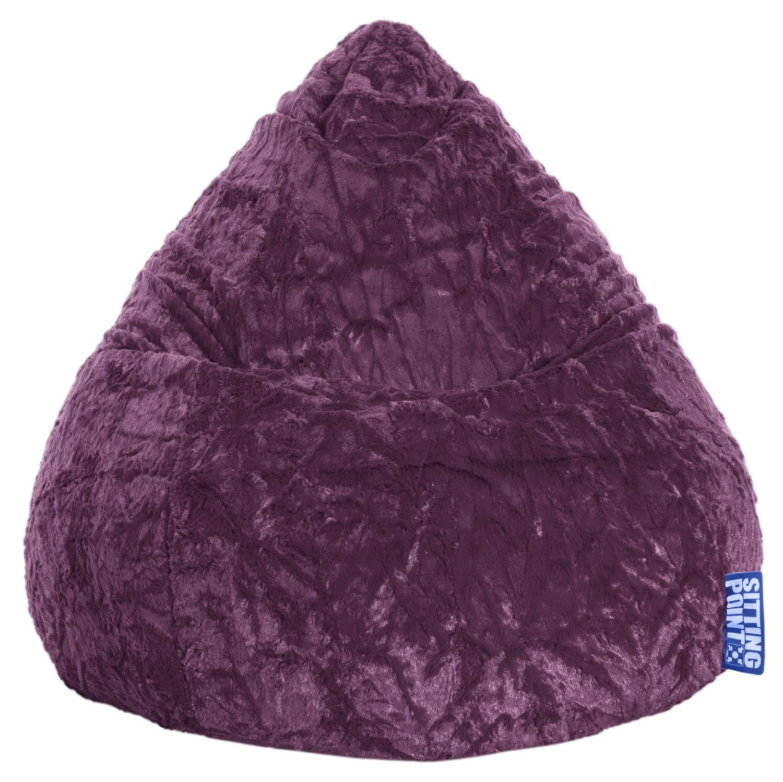 Sitting Point Fluffy Bean Bag