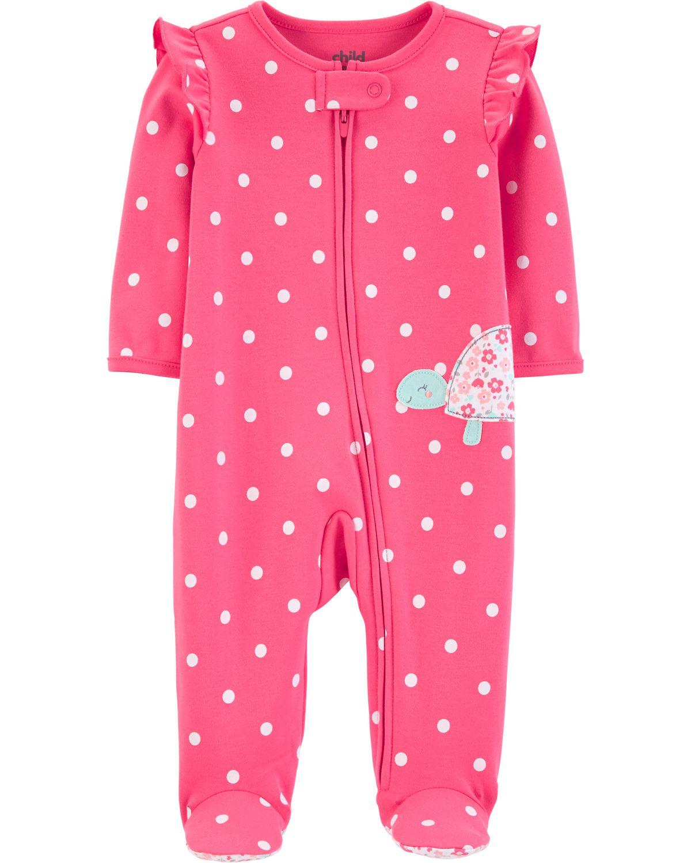 9dcddc5c075a4 Tenue avec pyjama-grenouillère pour nouveau-né fille Child of Mine made by  Carter s – tortue