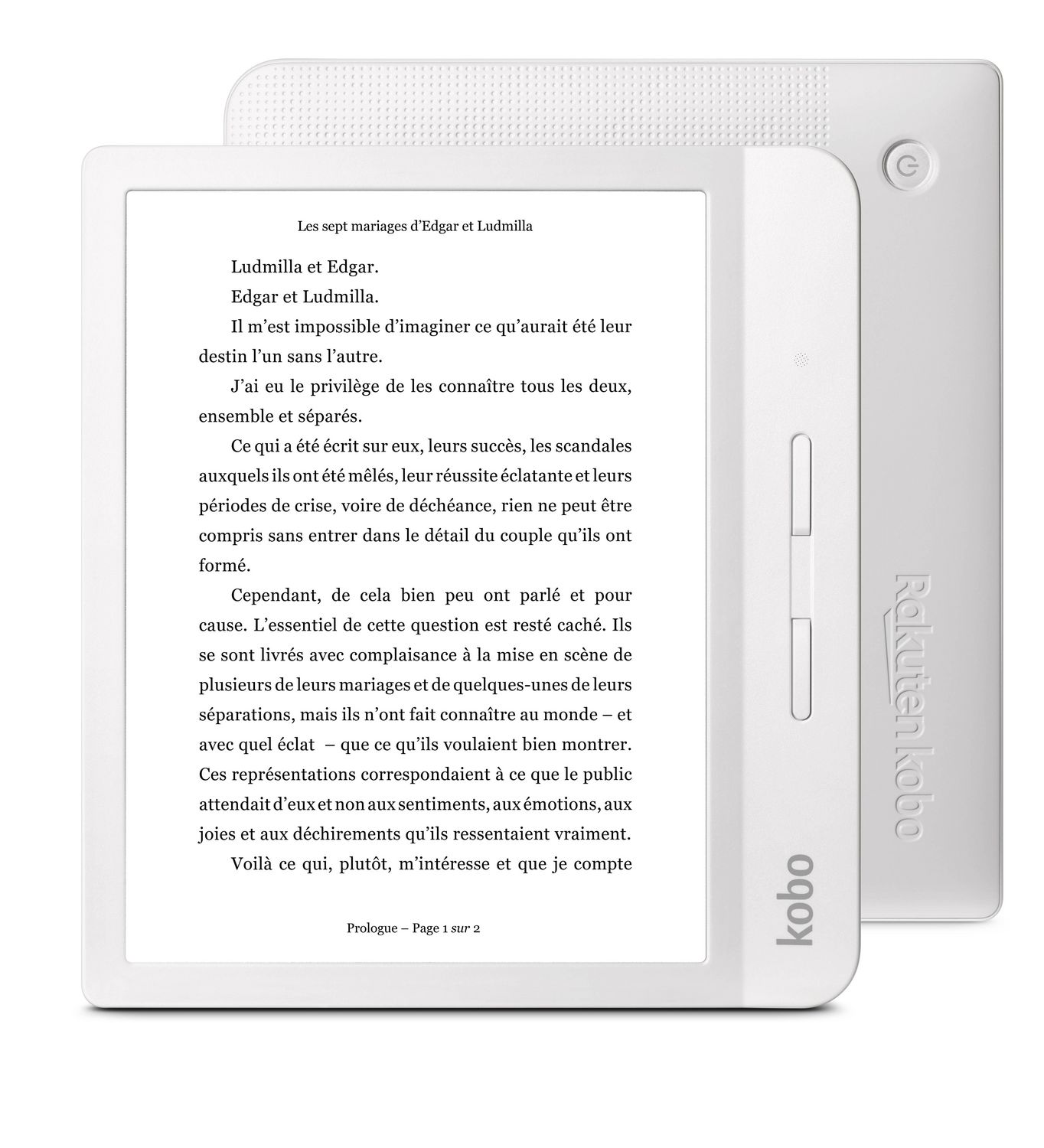 Best gifts for mom - Kobo Libra H2O - For the mom who loves to read