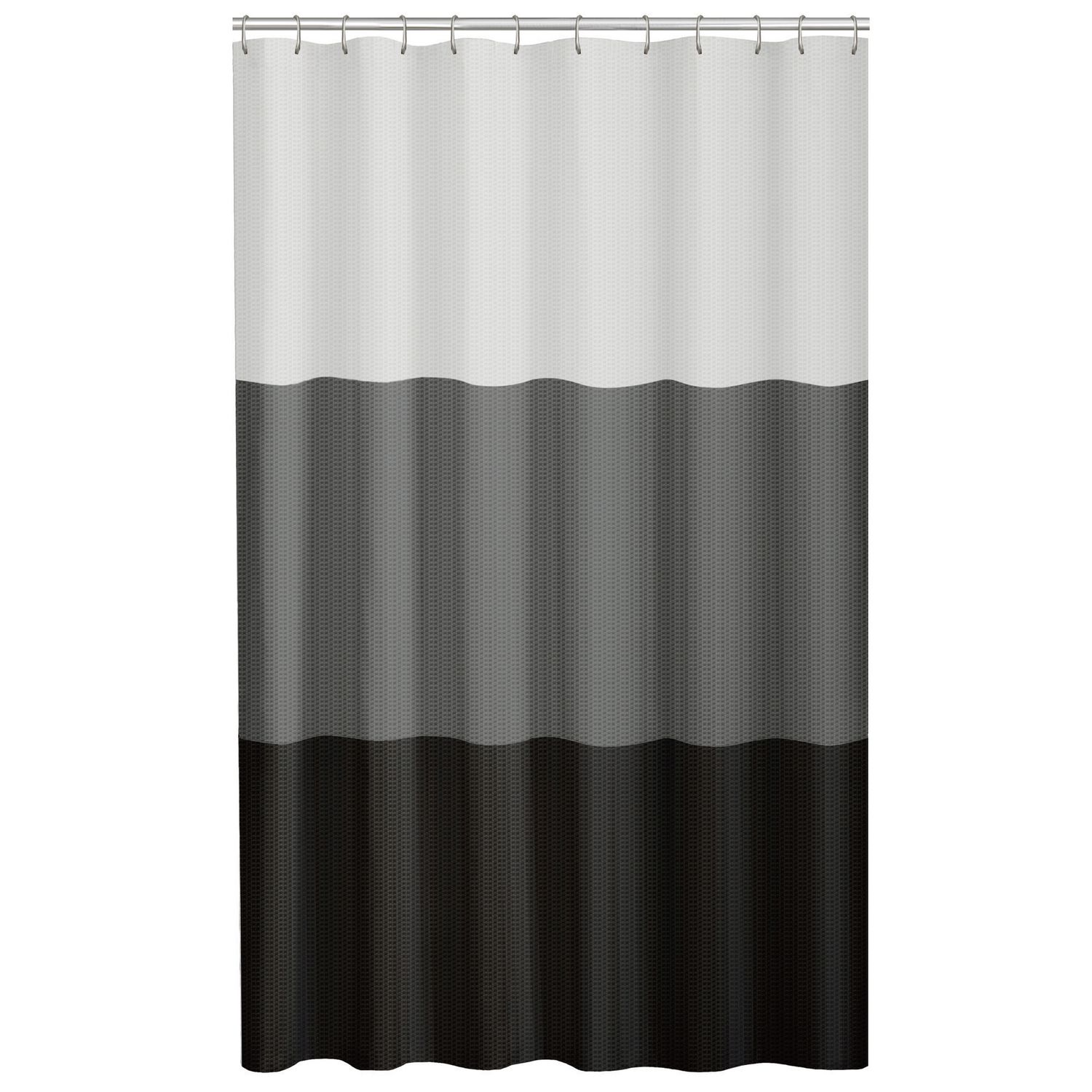 bath cotton shipping bedding natural shower overstock free linen product today gray curtain