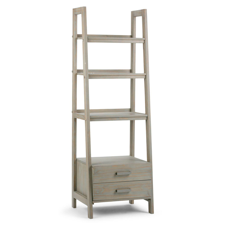 Wyndenhall Hawkins Ladder Shelf With Storage