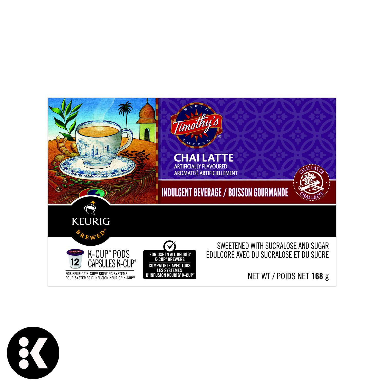 Keurig® Timothy's® Chai Latte K-Cup® PODS