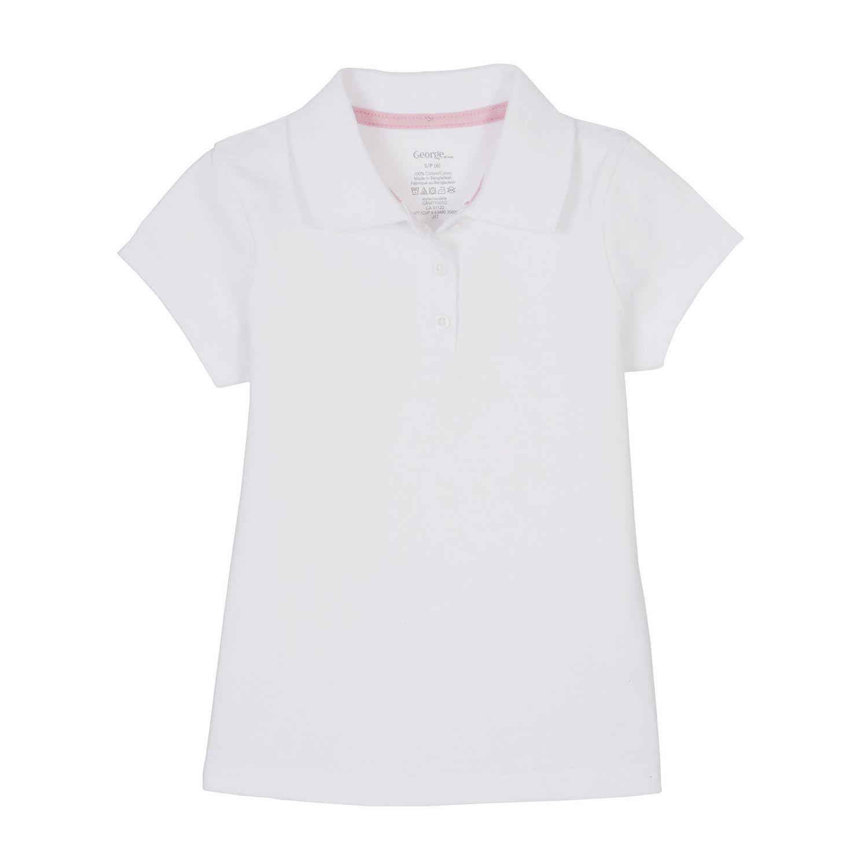 girls uniform polo