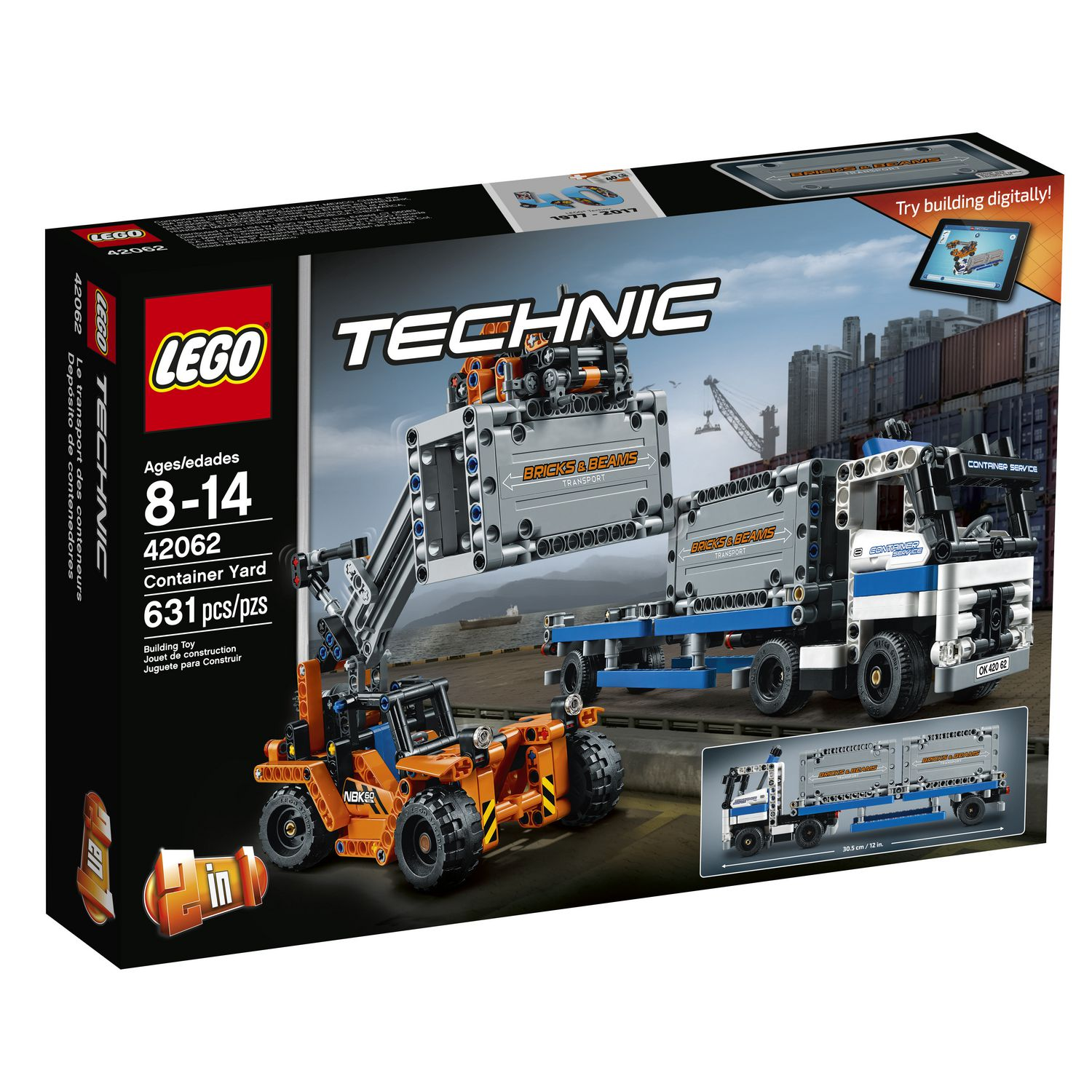 LEGO Technic - Container Yard (42062)