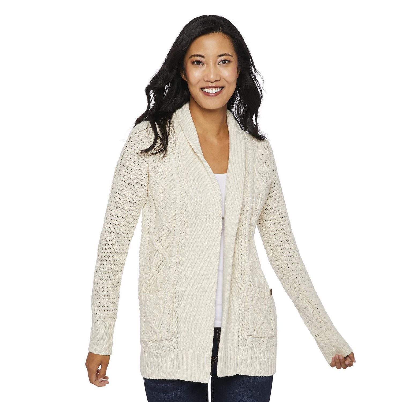 Canadiana Women's Cable Knit Cardigan | Walmart Canada