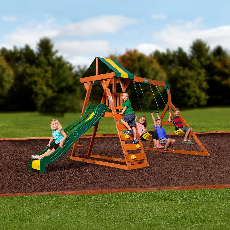 Backyard Discovery Madison Swing Set - 1605015   Walmart ...