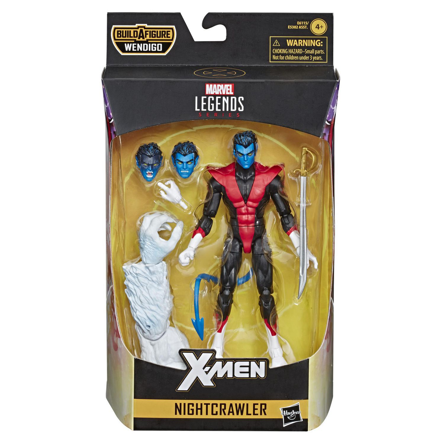 IN HAND Marvel Legends X-Men X-FORCE COMPLETE WENDIGO BAF READY TO SHIP!