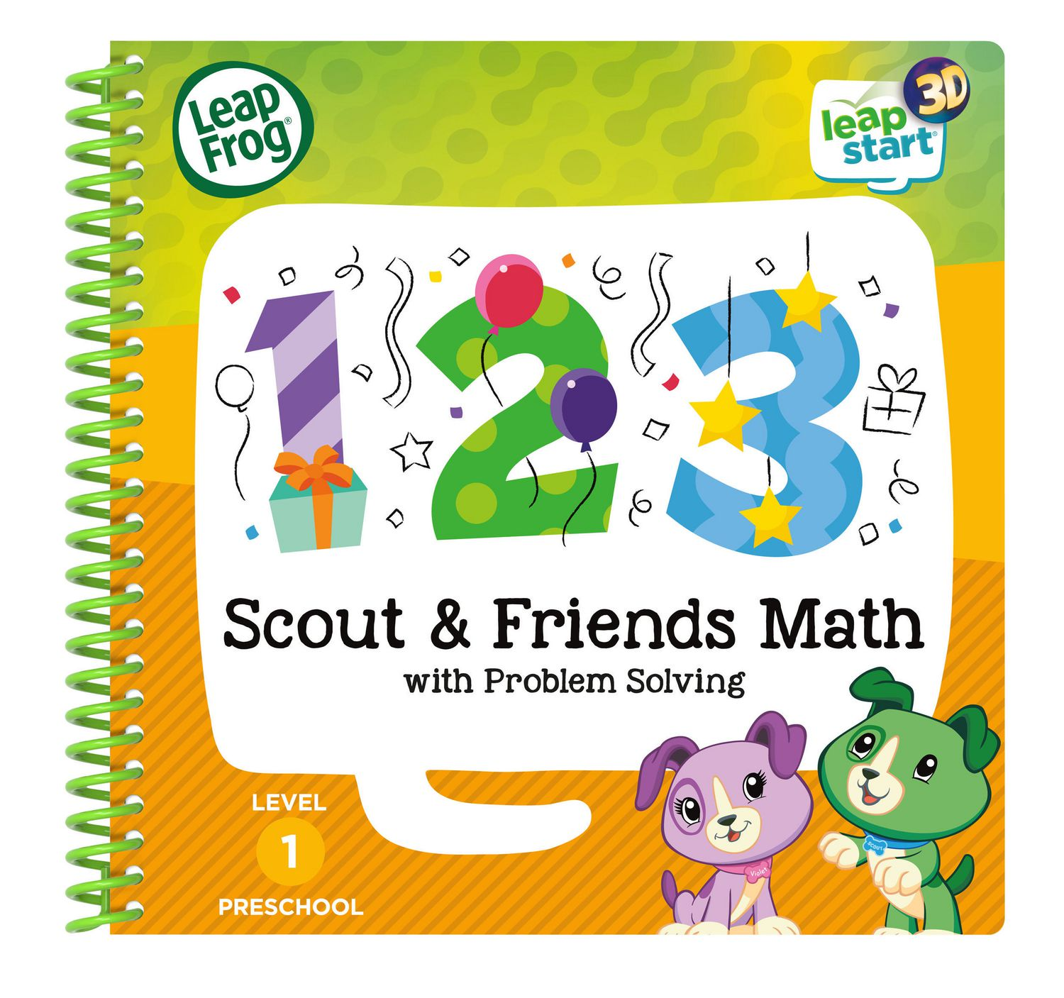 Leapfrog Leapstart 3d Scout Friends Math With Problem Solving English Version