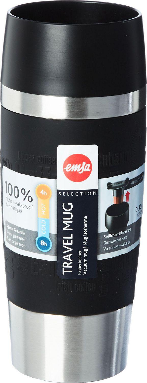 Emsa Travel Mug 12 Ounces Black Walmart Canada