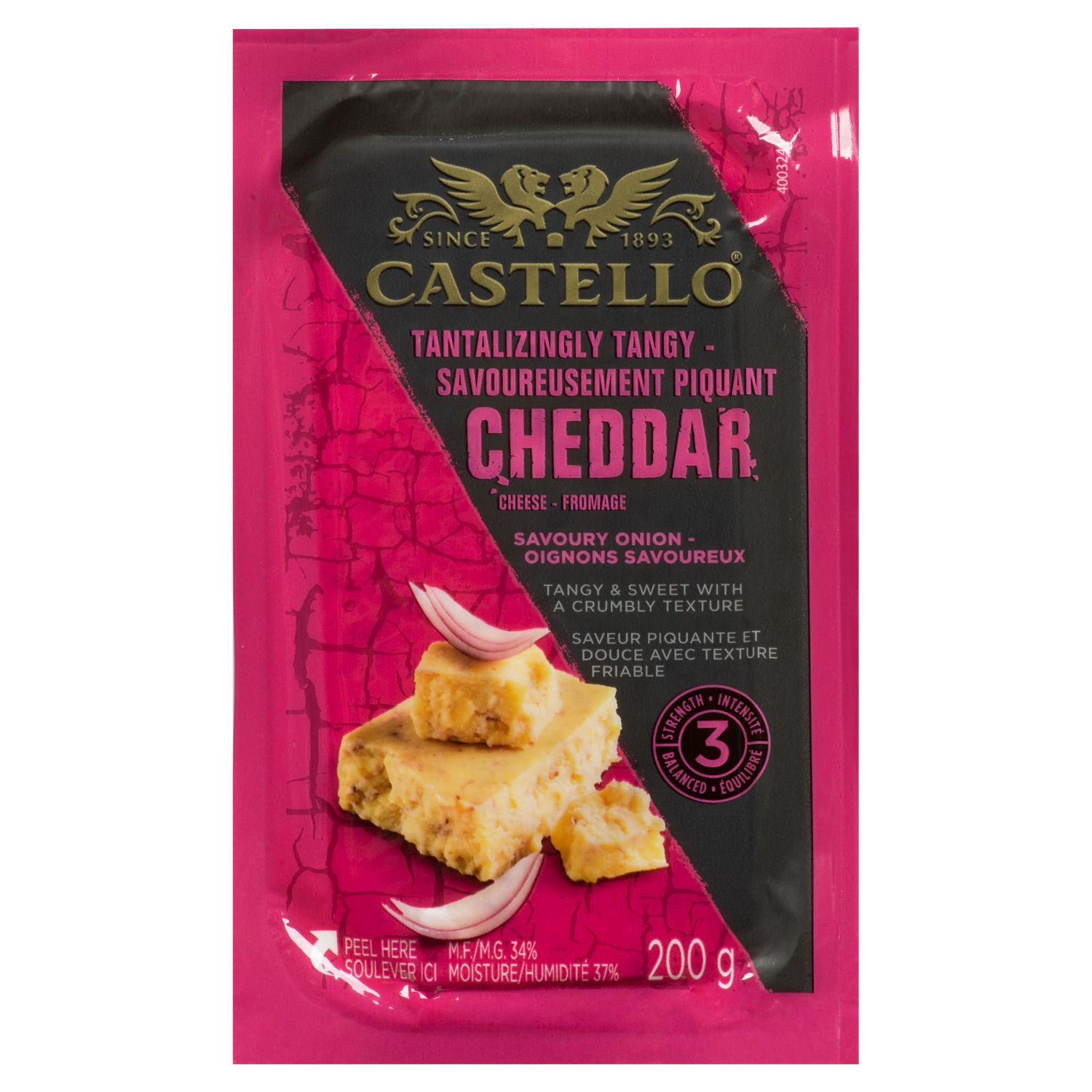 Castello Tantalizigly Tangy Savoury Onion Cheddar ...